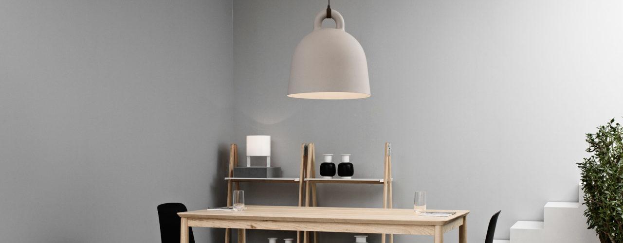 Bell lamp pendant pendel sand Normann Copenhagen